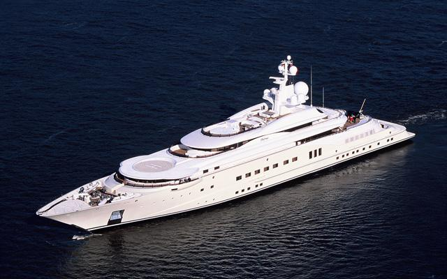 Worlds most expensive yatch